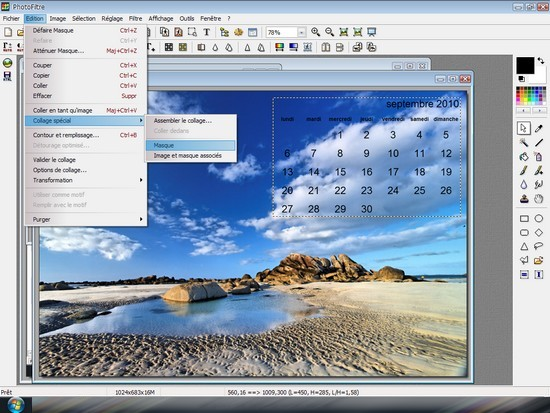 Tutoriels photofiltre openoffice cr er ses fonds d cran - Comment faire une brochure sur open office ...