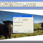 PhotoFiltre, faire pivoter et zoomer une image (MV's Plugins Perspective Transformation)
